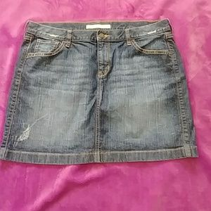 Plus size Old Navy jean skirt size 16